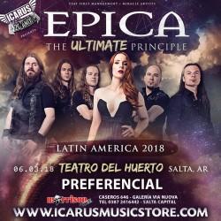 EPICA en SALTA ARGENTINA - The Ultimate Principle Latinamerican Tour 2018