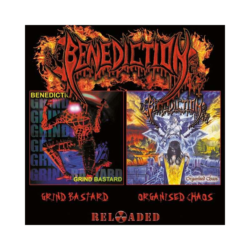 BENEDICTION - Grind bastar + Organised chaos - 2 Cd