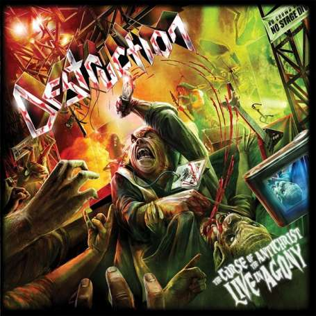 DESTRUCTION The curse of the Antichrist - Live in Agony