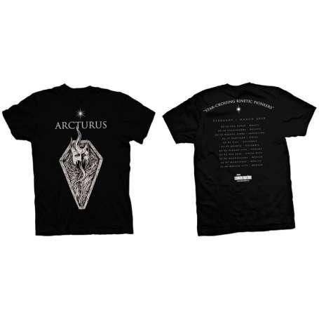 ARCTURUS - Remera tour 2018 Mod 2