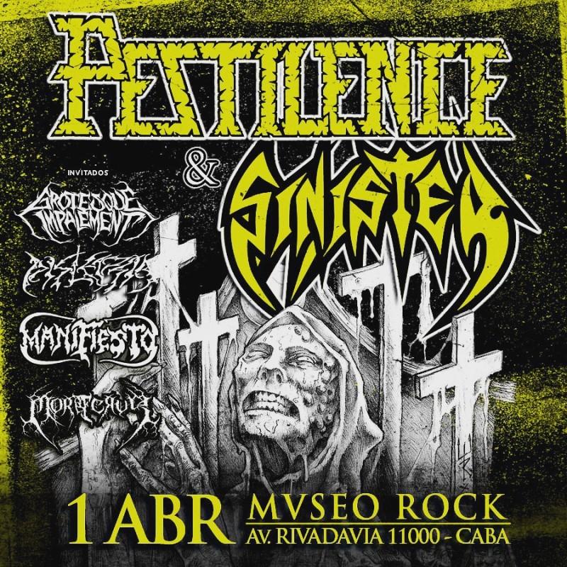 PESTILENCE & SINISTER