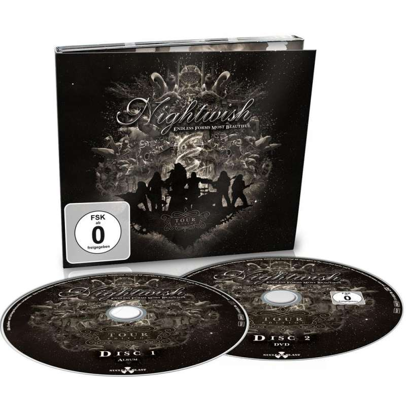 NIGHTWISH - endless forms most beautiful - TOUR EDITION CD+DVD