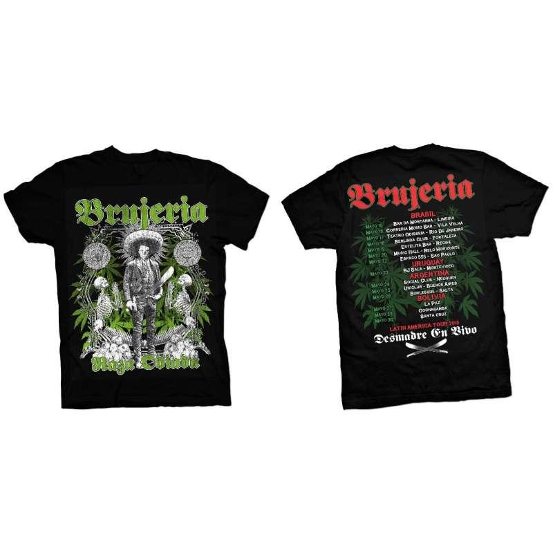 Brujeria - Tour 2018 Mod 1 Remera
