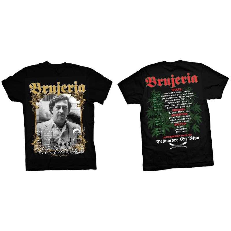 Brujeria - Tour 2018 Mod 3 Remera