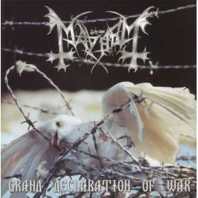 MAYHEM - Grand declaration...