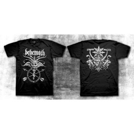 BEHEMOTH - Phoenix Rising Tour 2012 REMERA