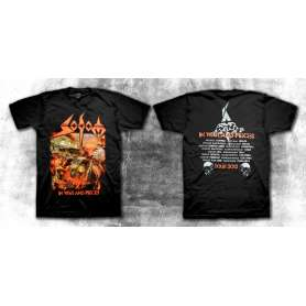 SODOM - In war and pieces Tour 2012 - REMERA