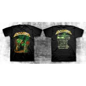 GAMMA RAY - To the metal Tour 2010 - REMERA
