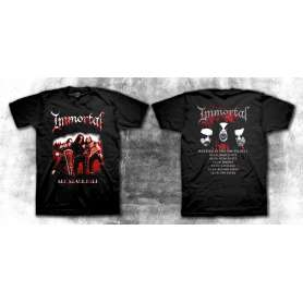 IMMORTAL - All shall fall Tour 2011 REMERA