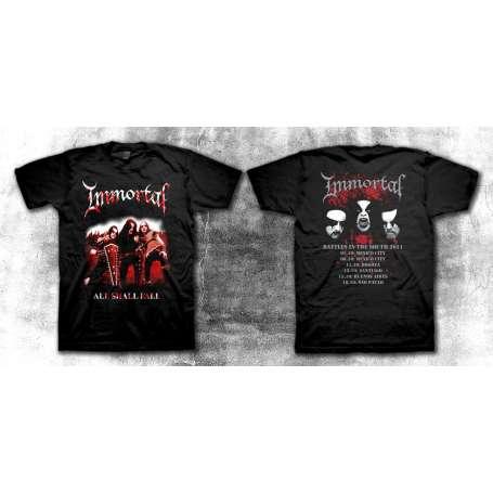 IMMORTAL - All shall fall Tour 2011 REMERA