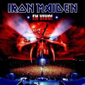 IRON MAIDEN - En vivo -2vinilo- (doble LP)