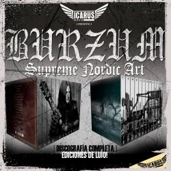 BURZUM - Discografia completa 13 CD'S