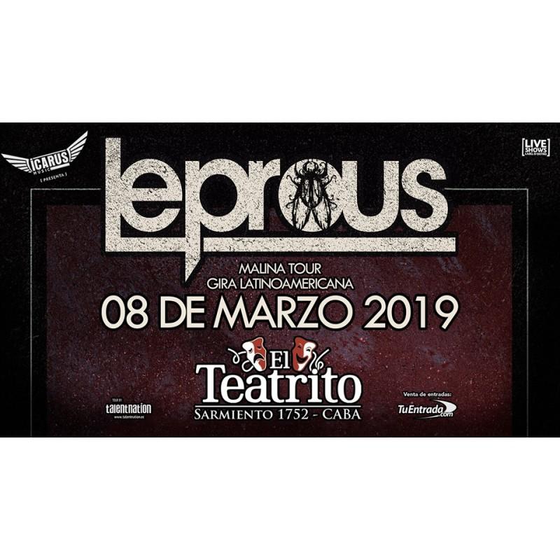 LEPROUS EN ARGENTINA