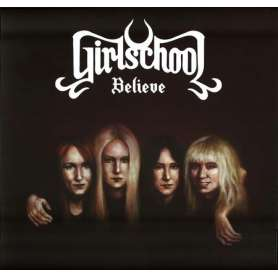 GIRLSCHOOL - Believe CD + DVD