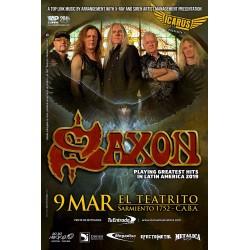 SAXON en Argentina 2019