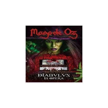 MAGO DE OZ - Diabulus in Opera  3 VINILOS (triple LP)