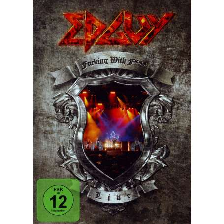 EDGUY Fucking with fire - Live