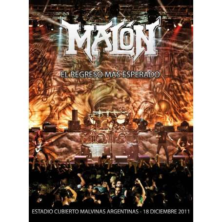 MALON - El regreso mas esperado - DVD + CD