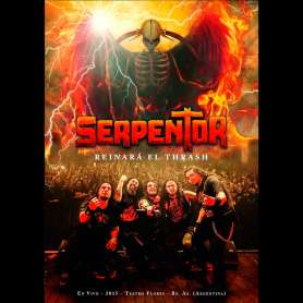 Serpentor - Reinara el Thrash