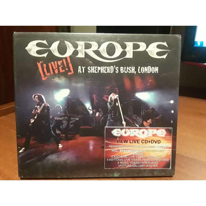 EUROPE - Live at Shepherds Bush, London