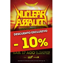 NUCLEAR ASSAULT  en Buenos Aires 2019