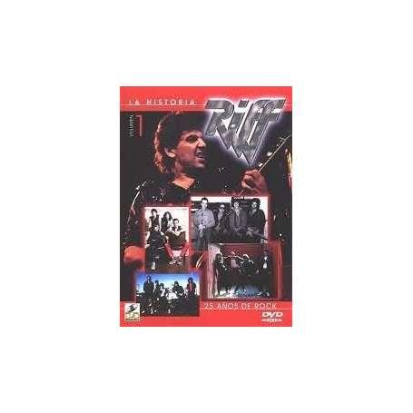 RIFF - La Historia, 25 años de Rock Vol 1