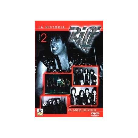 RIFF - La Historia, 25 años de Rock, Vol 2
