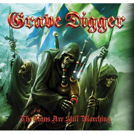 GRAVE DIGGER - The clans are still marching - Cd