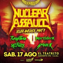 NUCLEAR ASSAULT - En Argentina