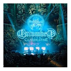ENTOMBED - Clandestine Live CD