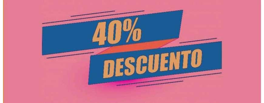 Ofertas: 40% de descuento