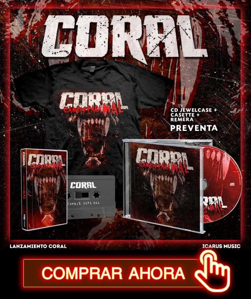 Coral - Cambié para mal - Icarus Music