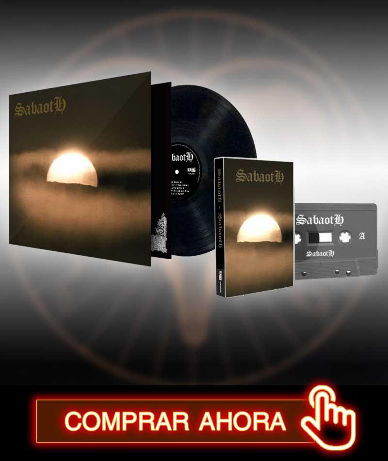 Sabaoth - Sabaoth en Icarus Music Store