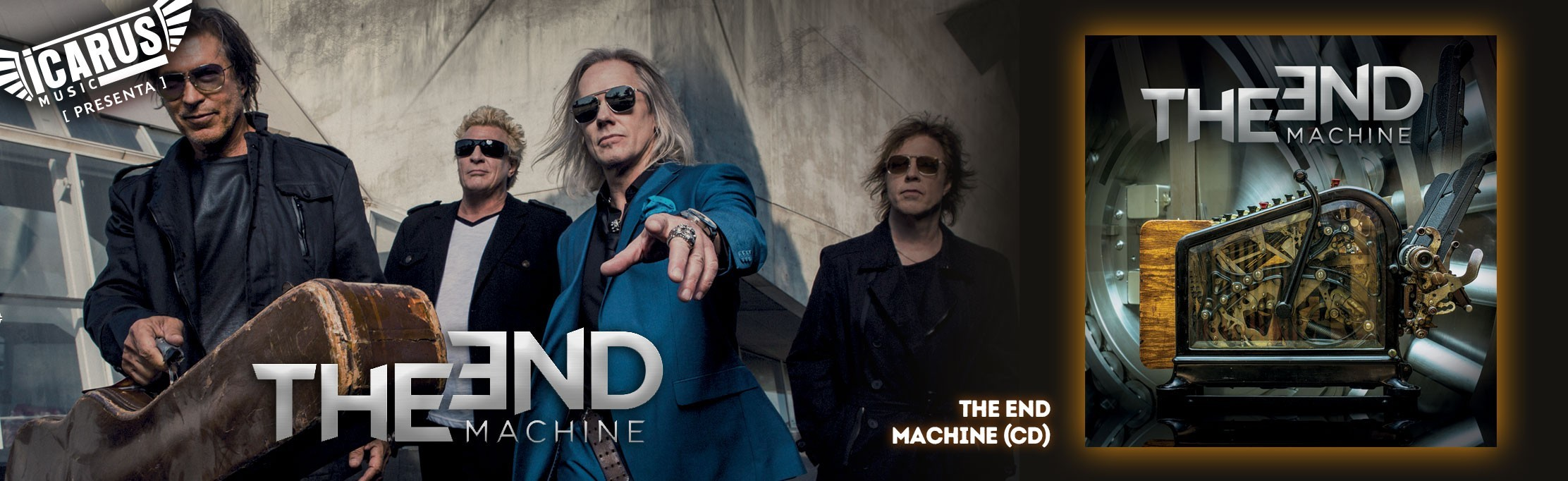THE END MACHINE - the end machine - Cd THE END MACHINE es el nombre que han usado 3 de los miembros de la formación clásica de DOKKEN