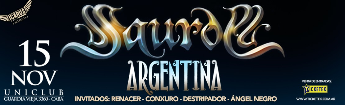 Saurom en Argentina :: 25-11-2018 :: UNICUB