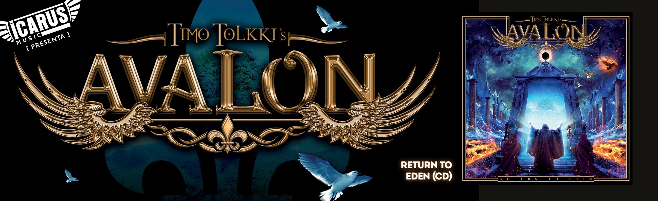 TIMO TOLKKI AVALON - Return to eden  - Cd