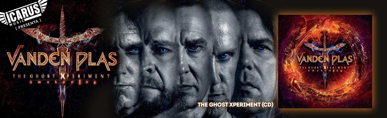 VADEN PLAS - The Ghost Experiment - Awakening - Cd  Lo alemanes Vanden Plas han decidido ofrecernos de nuevo una obra conceptual