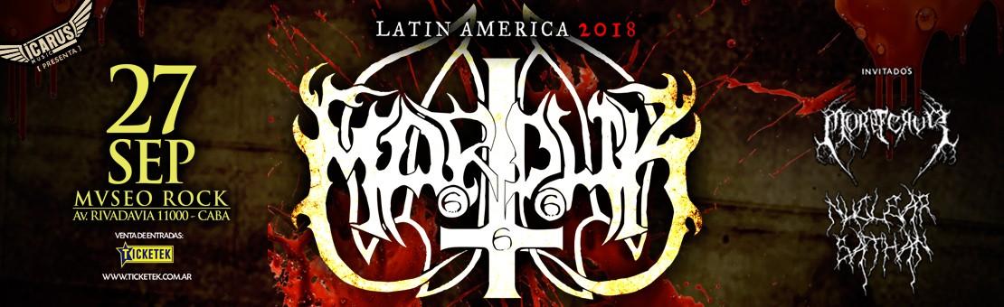 MARDUK en Argentina :: 20-09-2018 :: Mvseo Rock