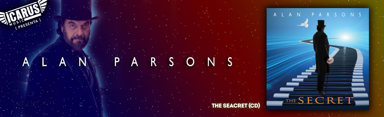 ALAN PARSON The Secret es el quinto álbum de estudio como solista del músico británico Alan Parsons